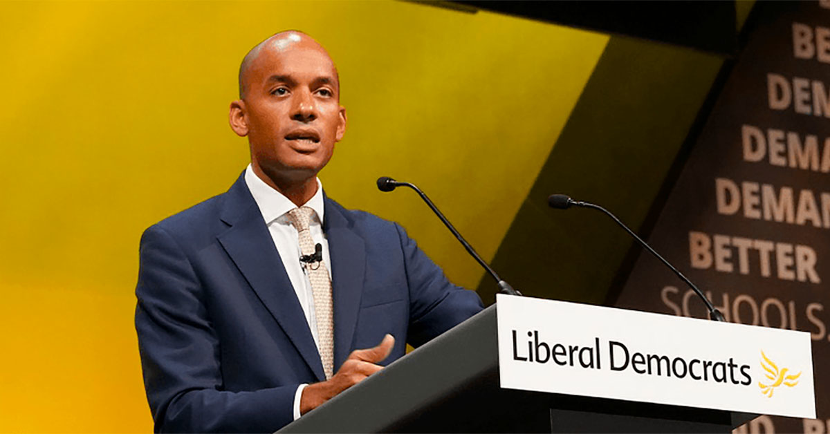 Chuka Umunna on joining the Liberal Democrats