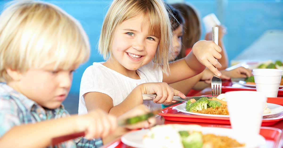 Free school meal for all primary school children